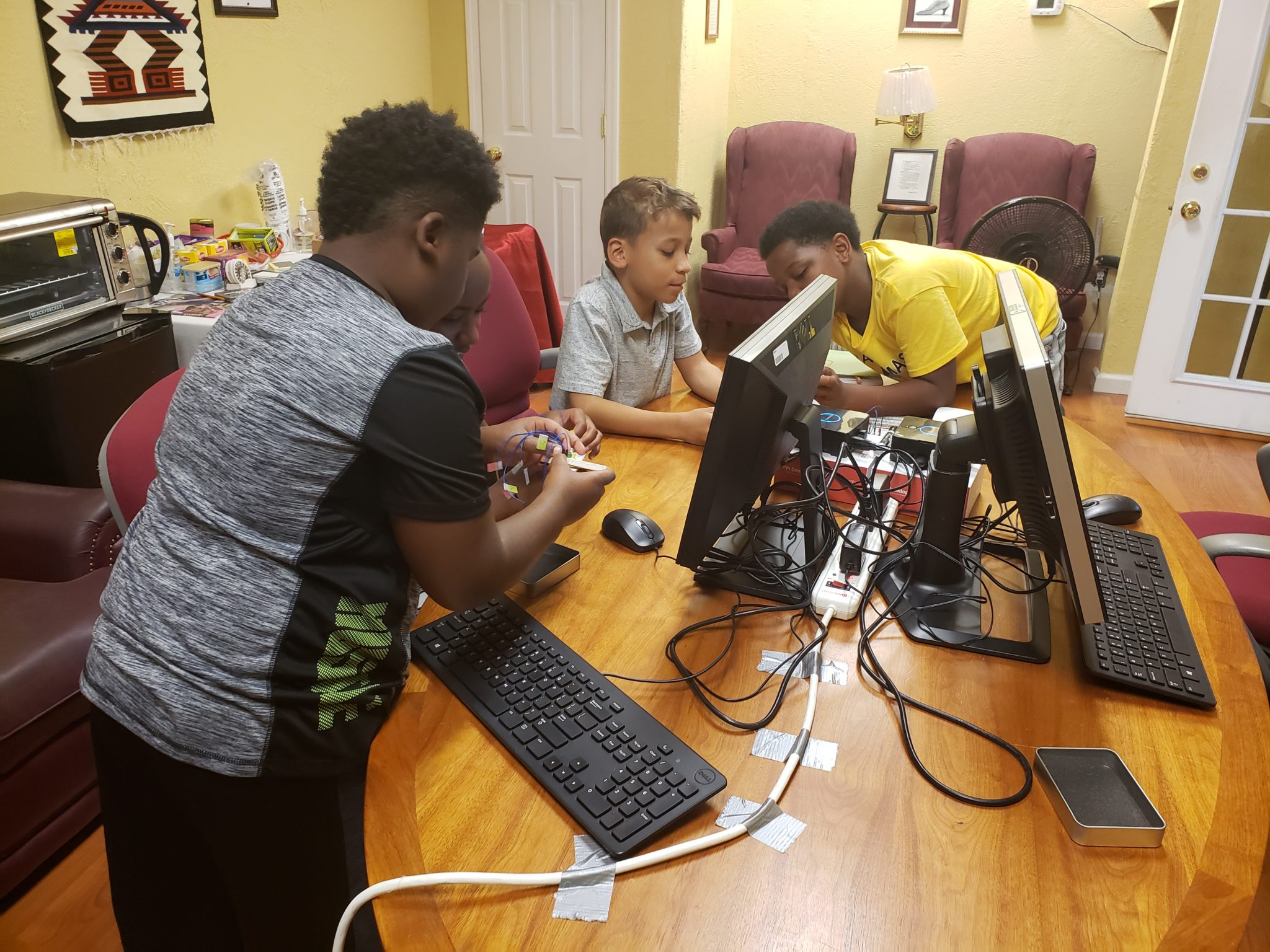 BDPA Huntsville – Intro To Physical Computing at the Harvest Youth Club