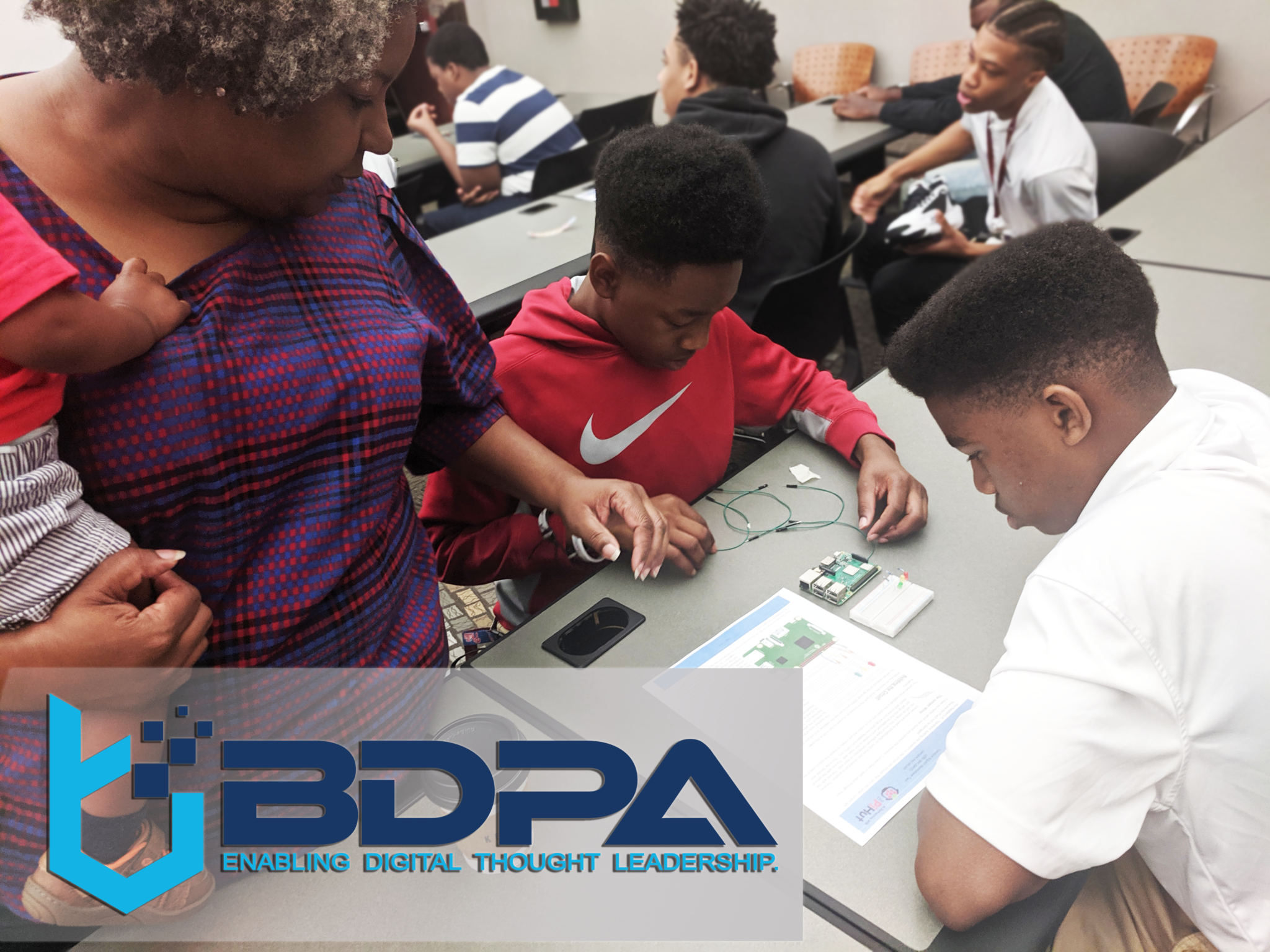 STEM Training Workshop with Huntsville Young Men