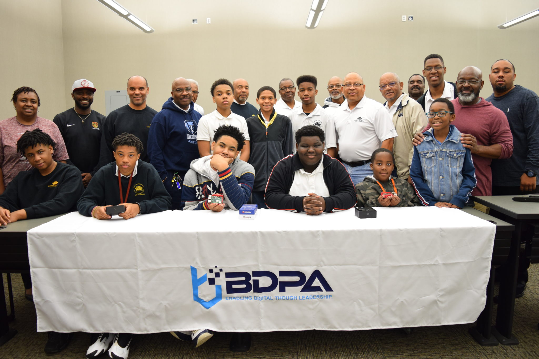BDPAHSV and 100 Black Men partner to train the Men of Tomorrow