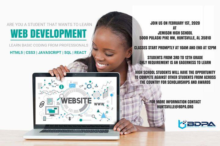 Web Development Basics Workshop By BDPA Huntsville