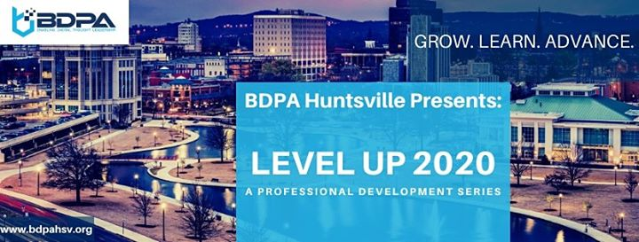 BDPAHSV Presents Level Up 2020: Professional Development Series LU103